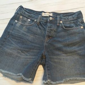 Madewell Cut Off Shorts Size 24